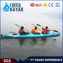 16 años de protección UV en tándem de 3 asientos Kayaks