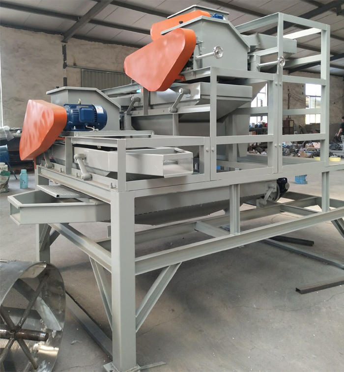 High Efficiency Machine for Breaking Almond