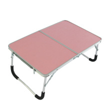 Nueva mesa de picnic portátil plegable de la mesa de ordenador de aluminio del diseño pequeño