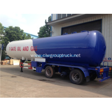 Stainless steel milk tank/fuel transport tanker trailer