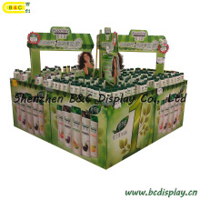 Shampoo Cardboard Display in The Supermarket (B&C-C019)