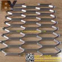 Panel decorativo de metal expandido de aluminio