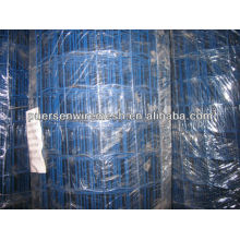 Blue pvc coated galvanized welded wire mesh