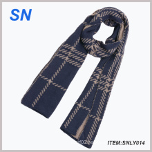 Winter Warm Dark Color Long Scarf