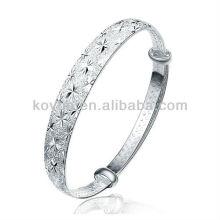 Самый лучший продавать 925 браслетов стерлингового серебра Aliexpress для венчания женщин
