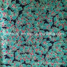 Невероятная дешевая цена для 100% хлопчатобумажной ткани с металлическим цветом для праздников