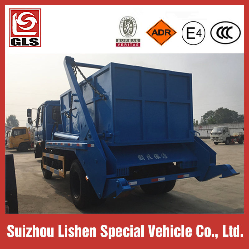 4X2 Dongfeng Swing  Arm Garbage Truck