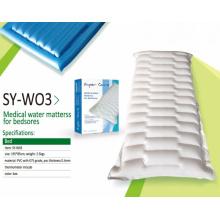 Colchão de água médico para bedsore inflável água cama flutuante SY-W03