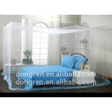 Moustiquaire rectangulaire à base d'insecticide rectangulaire pour lit double