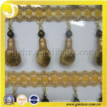 Made in China Pompom Vorhang Tassel Fringing für zu Hause und Textile Decor