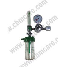 Single-Stage Preset Flowmeter Regulator W/ Cga540 Nut and Nipple Inlet