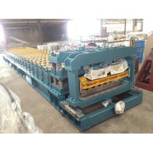 China Metal perfilado esmaltó el azulejo de azotea que hace la máquina