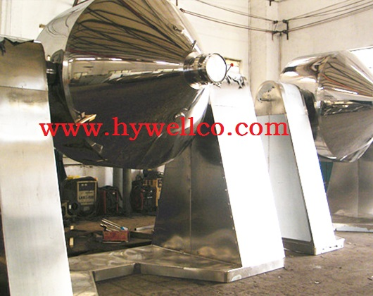 Low Temperature Double Cone Vacuum Rotary Dryer