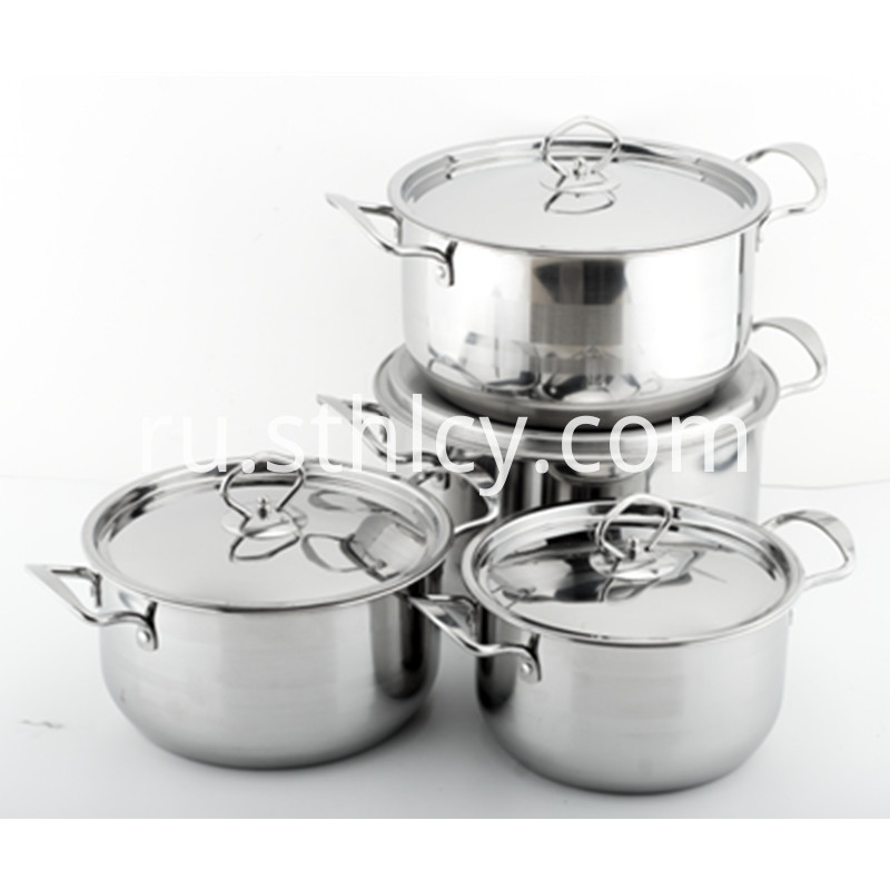 Essential Stainless Steel Cookware Set