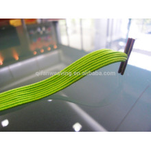 FANCY CUSTOM 8mm farbige geflochtene elastische Schuhspitze