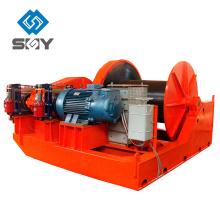 Torno eléctrico de baja velocidad modelo JM de 5 toneladas