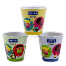 Round Melamine Promotional Cup with Logo (CP7276)