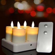 Перезаряжаемые беспламенные свечи для чая с дистанционным управлением