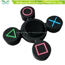 Geometric Fidget Silicone à main Spinner Finger Toy EDC Focus Fingertip Gyro