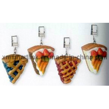 Pizza Decor Cloth Cloth Clamp, clip de tissu de table