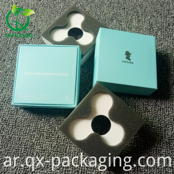 Small cardboard boxes with lids