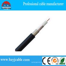 Cabo de rádio Rg58 Al / cobre / CCA / CCS ou jaqueta de PVC Shield Braid