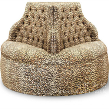Gedruckt Velvet Fabric 100% Polyester Fleece für Sitzsäcke