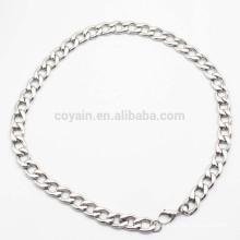 Fabrik Großhandel Dünne Edelstahl Kette Halskette