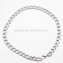 Factory Wholesale Thin Stainless Steel Chain Necklace