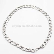 Fábrica de Atacado Thin aço inoxidável cadeia colar