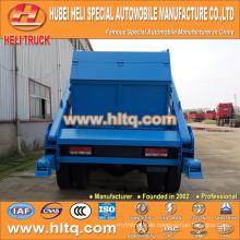 Überspringen Loader Müllwagen Arm Swing Sanitär Fahrzeug Müll LKW 10cbm 190hp DONGFENG 4x2 neue Modell Müllwagen heißen Verkauf