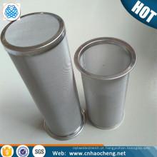 Infusor de aço inoxidável congelado do café da malha 150 do mícron 150 de 100 para o fabricante de café frio da fermentação