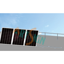 Suportes de montagem de painel solar-ajustável para telhado plano
