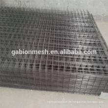 Panel recubierto galvanizado de la cerca de alambre soldada / paneles de la cerca del alambre de cerdo (para la pared)