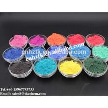 Poudre de pigment thermochromique sensible à la chaleur à 31 ° C pour vernis à ongles.