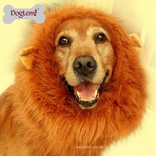 Großhandel Hund Haustier Zubehör Lion Mähne Perücke Hund Haustier Kostüm