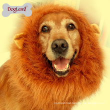 Wholesale Dog Pet Accessories Lion Mane Wig Dog Pet Costume