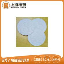 Tampons carrés de coton de solvant de maquillage, garnitures rondes de coton organique de H0T70000