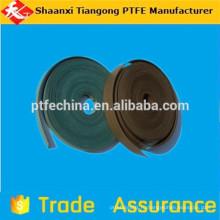 Уплотнения материал анти-щелочной ptfe ориентированный ремень f4 направляющий ремень hot on sell