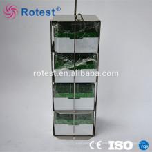 support de conteneur d'azote liquide de récipient cryogénique d'acier inoxydable