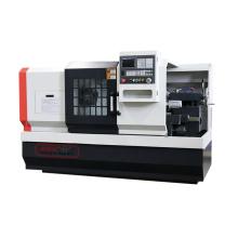 Flat Bed 2-meter Shaft Part Processing CNC Turning Machine Economical CNC lathe