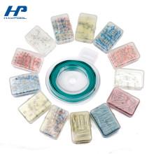 Umweltfreundlicher kleiner Plastikverpackungs-Aufbewahrungsbehälter mit Deckel