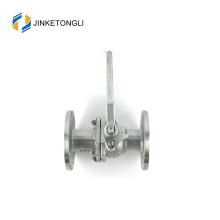 JKTLFB026 ss316 a216 wcb 2pc flotteur téflon 20mm valve à bille