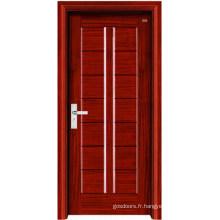 Porte intérieure en bois (LTS-306)