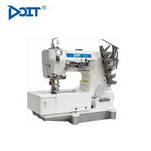 DT500-01CB DOIT 3 Needle 5 Thread Flat Bed Interlock Coverstitch Industrial Máquina de coser