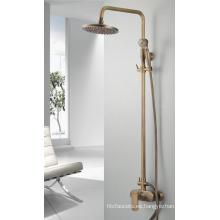 Q3077ta baño de bronce antiguo grifo de baño / mezclador / grifo de ducha Set con Headshower y ducha de mano