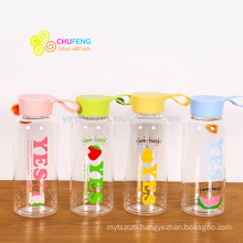 Hot Sale travel portable plastic Drinking fruit logo Sport Water Bottle Space cup