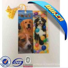 Marcador lenticular de 2015 perros para regalo promocional