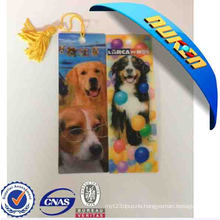 2015 Dogs Lenticular Bookmark for Promotional Gift