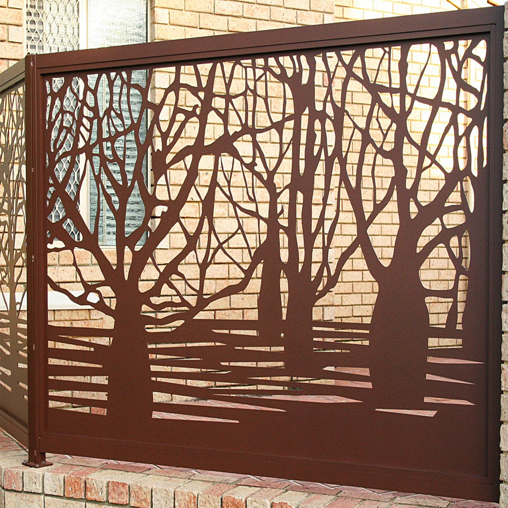Panel Arsitektur Metal Cut Metal